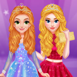Beauty Makeover: Princesses Prom Night<br />[2.9x]
