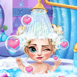 Ice Queen Baby Bath<br />[2.9x]