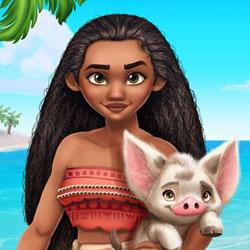 Polynesian Princess Adventure Style
